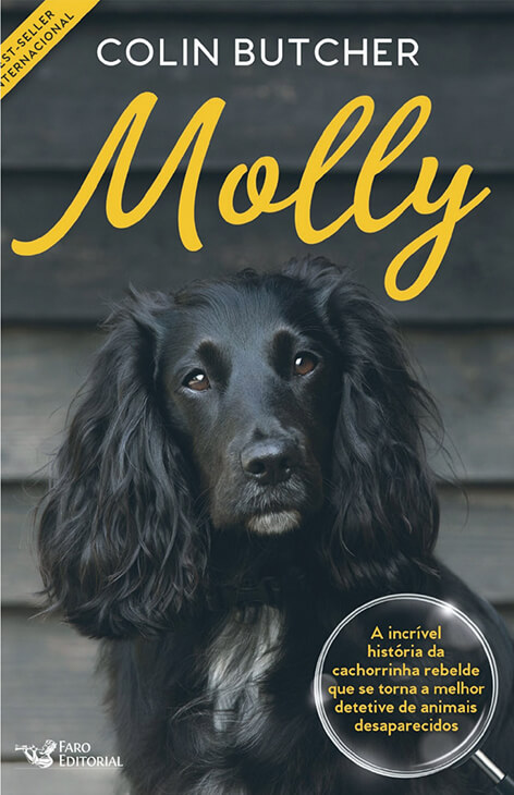 Molly the Pet Detective by Colin Butcher - Brazil version
